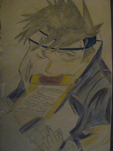 Fanart de Uchiwa Sasuke par Pub R.T