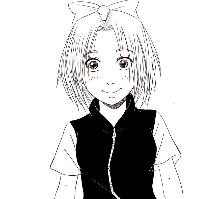 Fanart de Haruno Sakura par Takeshi_77