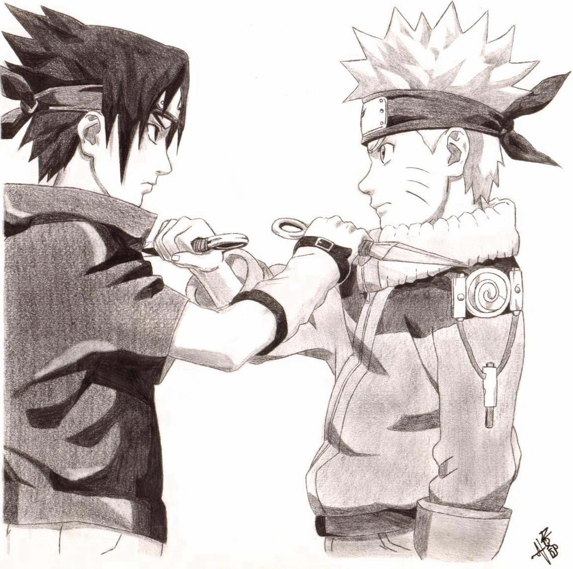 Naruto The Way Of Naruto Naruto Vs Sasuke De Issa