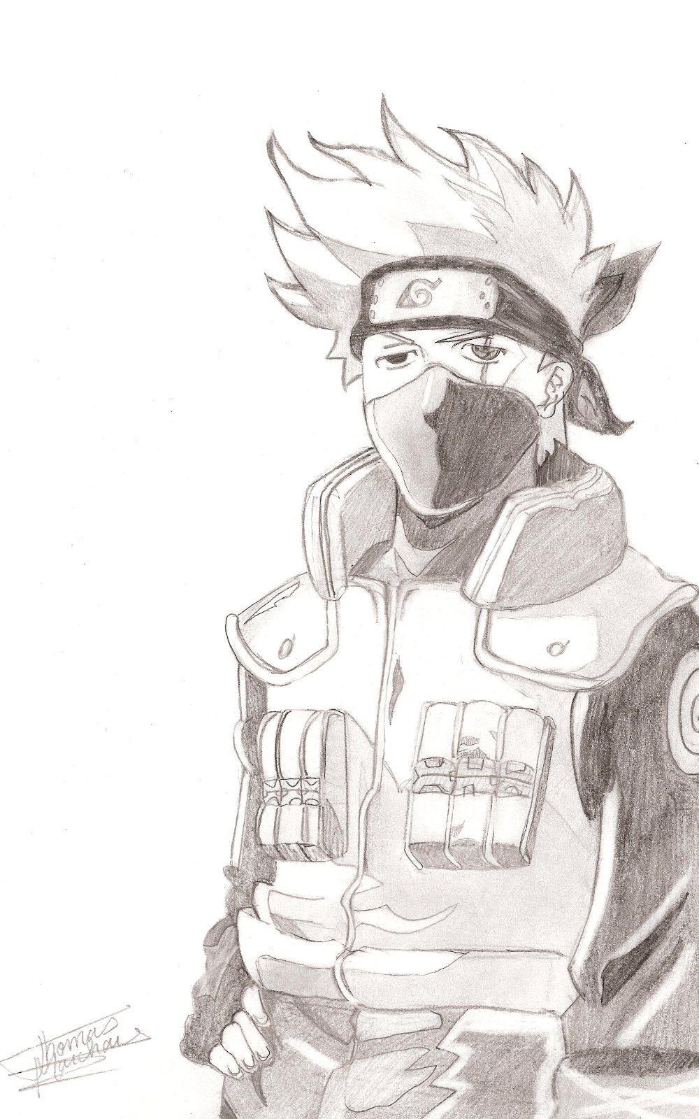 Naruto the way of naruto kakashi l 39 homme au sharingan - Dessin kakashi ...