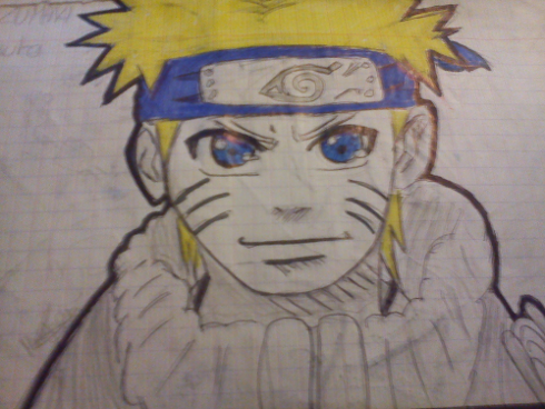 Fanart de Uzumaki Naruto par mangafanxx