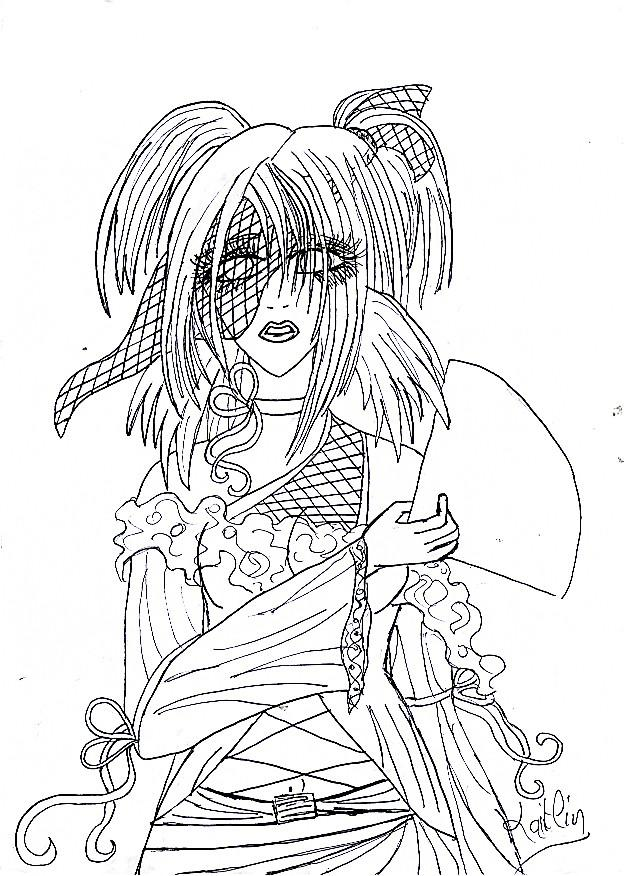 Fanart de Temari par arwen00710