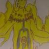 Naruto en mode chakra