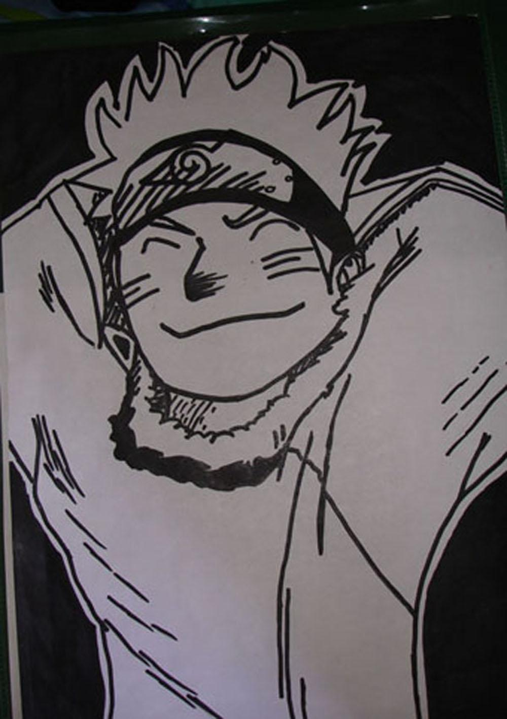 Fanart de Uzumaki Naruto par rock lee 15