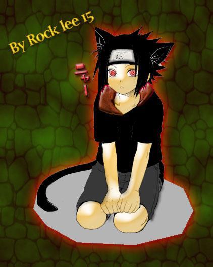Fanart de Uchiwa Sasuke par rock lee 15