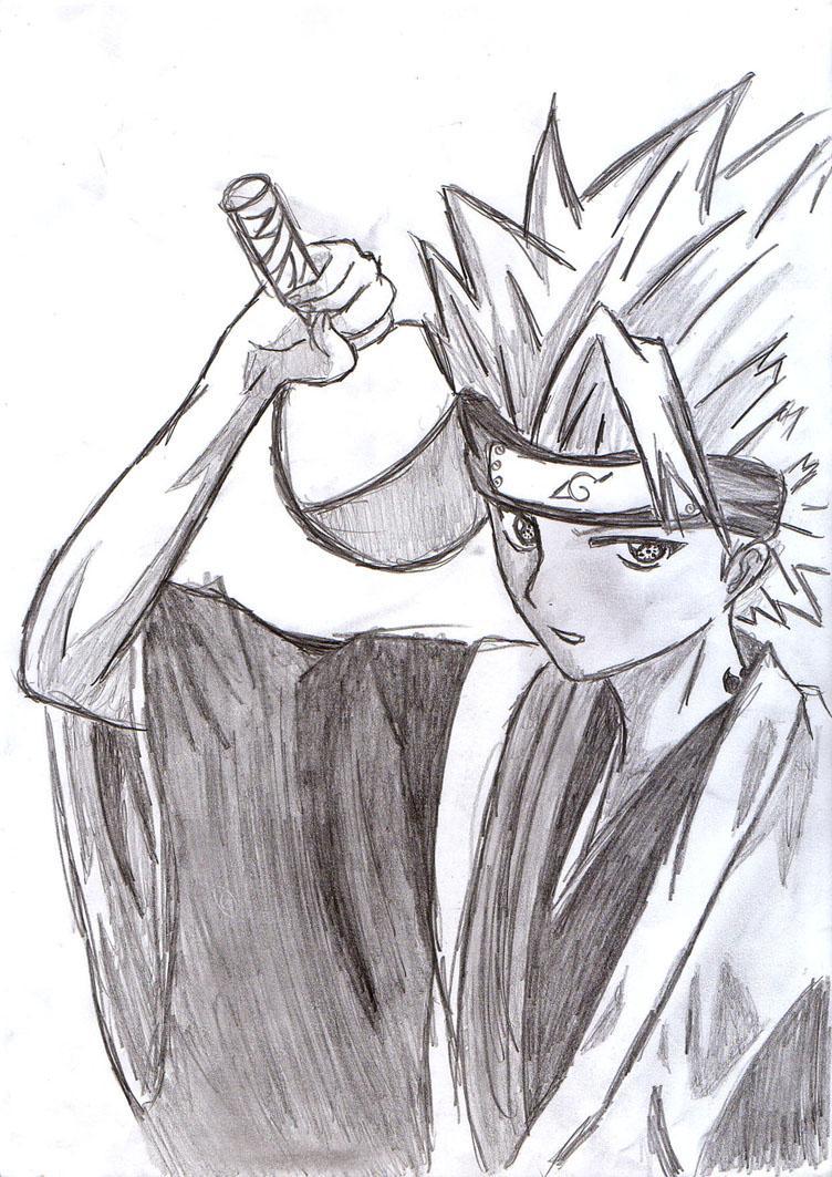 Fanart Naruto par rock lee 15