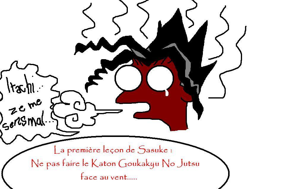 Fanart de Uchiwa Sasuke par Syrah