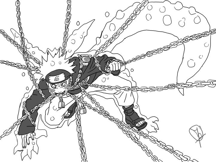 Naruto the way of naruto naruto kyubi de hakura - Coloriage naruto sasuke ...