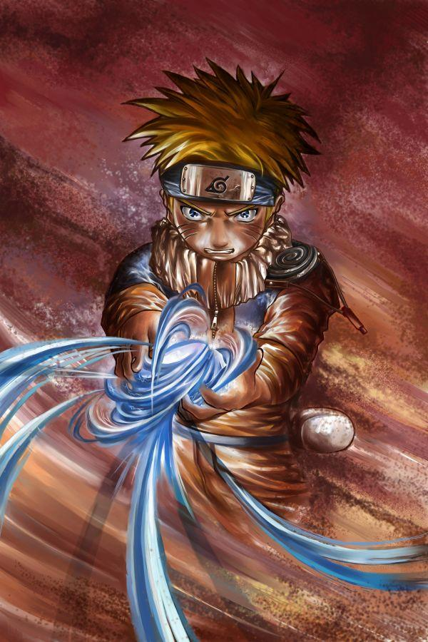 Fanart de Uzumaki Naruto par TSHO