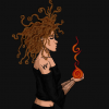 Fire & floating hairs de Z�m�