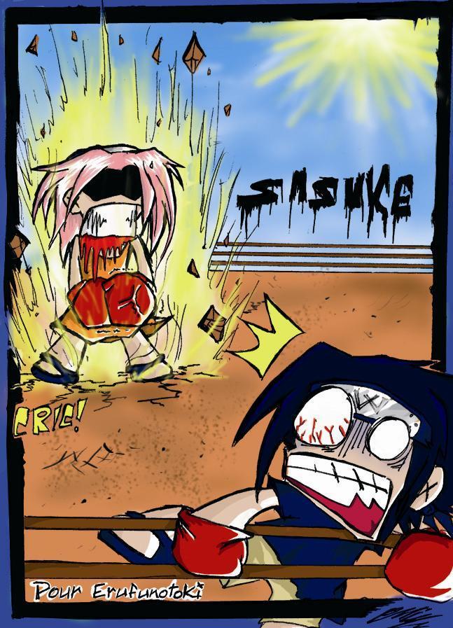 Fanart de Haruno Sakura, Uchiwa Sasuke par Hayard