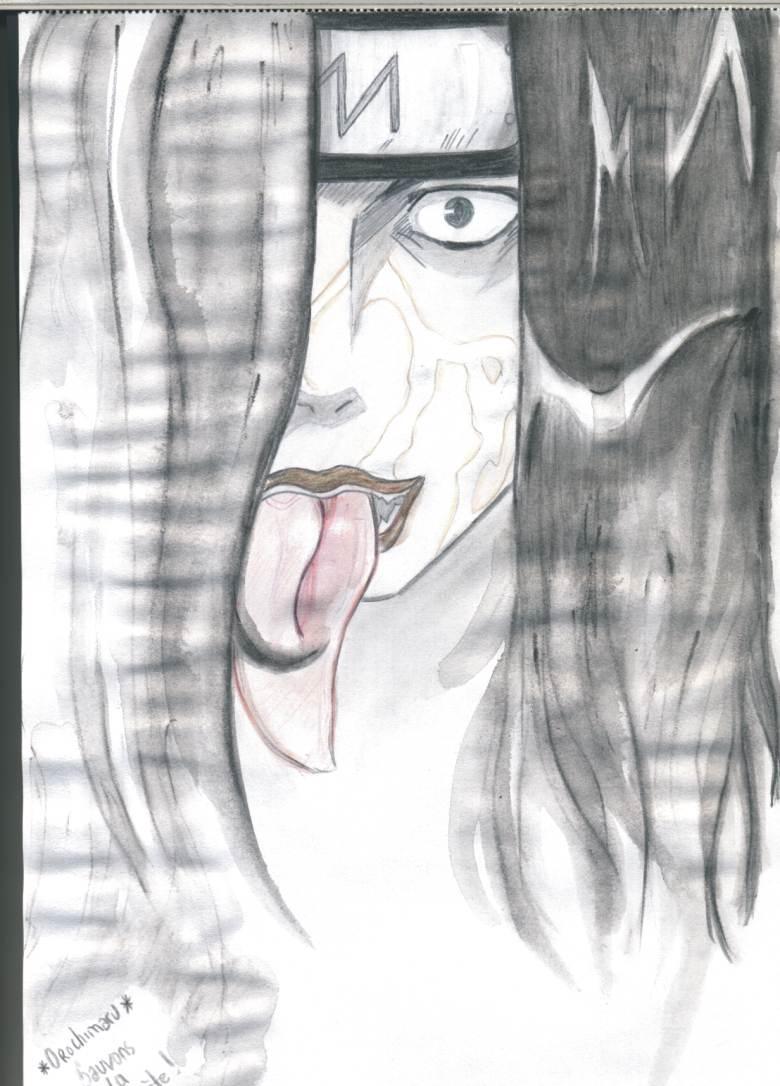 Fanart de Orochimaru par kurenai95