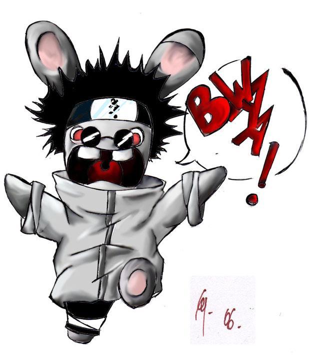Naruto the way of naruto quand un lapin cr tin tombe amoureux de shi de cy - Dessiner un ninja ...