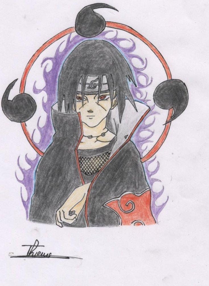 Naruto the way of naruto dessin de itachi de kakashi123452 - Naruto dessin couleur ...