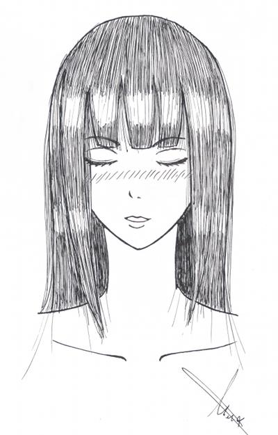 Fanart de Hyûga Hinata par gaarafan