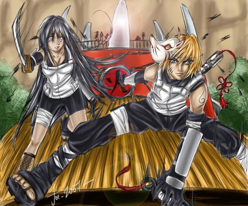 Fanart de Hyûga Hinata, Uzumaki Naruto par Urumi Kanzaki