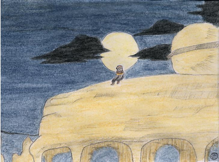 Fanart de Gaara du Désert par Emma
