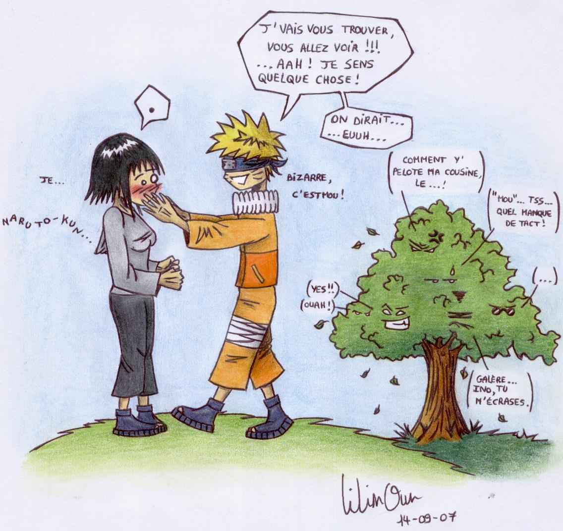 Fanart de Hyûga Hinata, Uzumaki Naruto par LilinOun