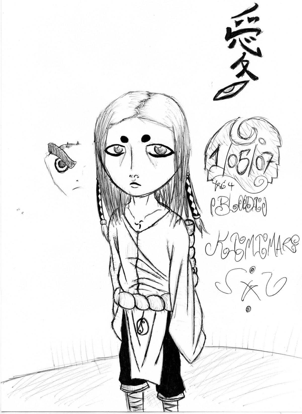 Fanart de Kimimaro par bloodi