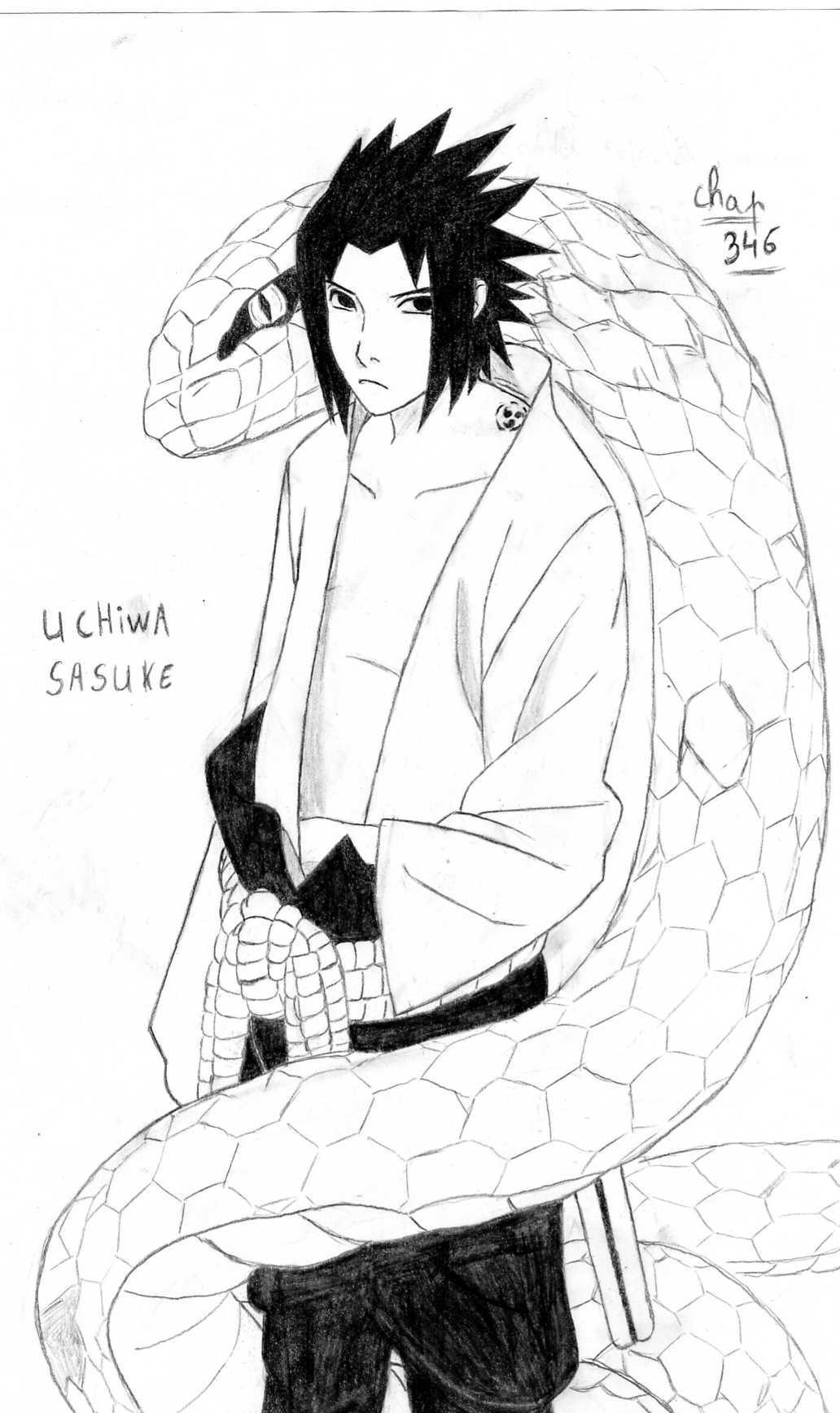 Naruto The Way Of Naruto Ushiha Sasuke Shippuden De