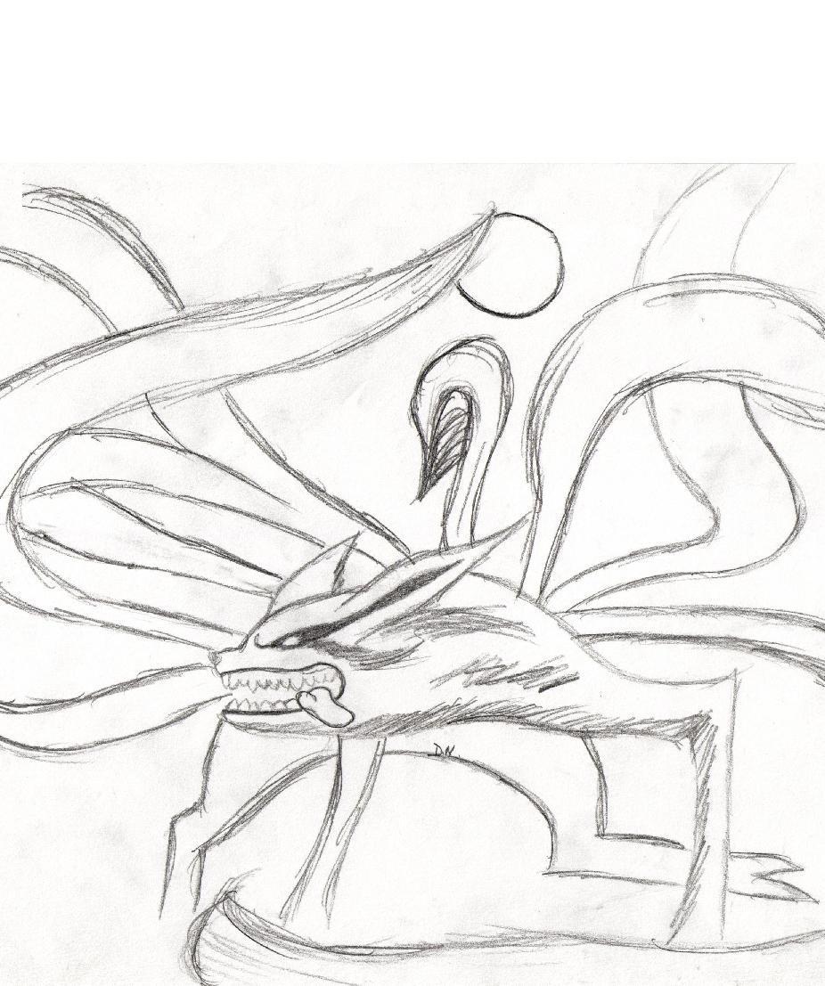 Pin coloriage renard page 2 on pinterest - Coloriages naruto demon renard ...