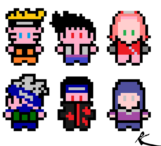 Naruto The Way Of Naruto Pixel Naruto De Ledanseur