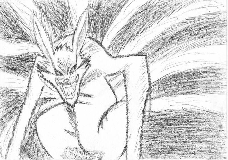 Naruto the way of naruto l 39 esprit du demon renard de temariss - Coloriages naruto demon renard ...