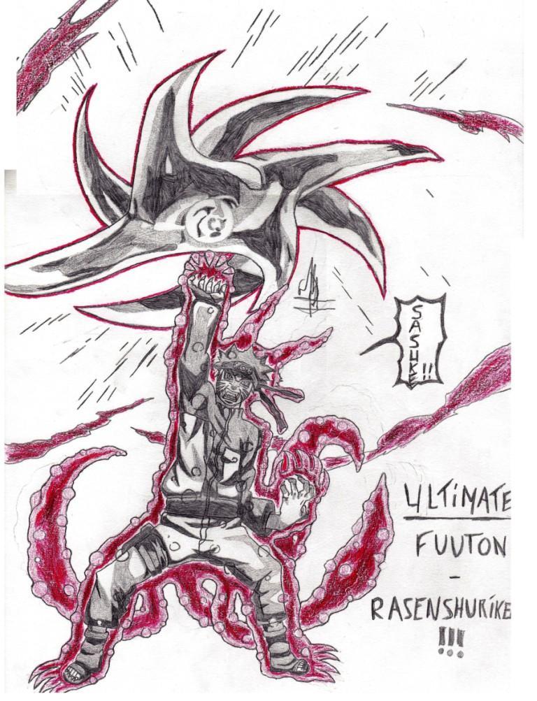 Naruto the way of naruto ultimate fuuton rasen - Shuriken dessin ...