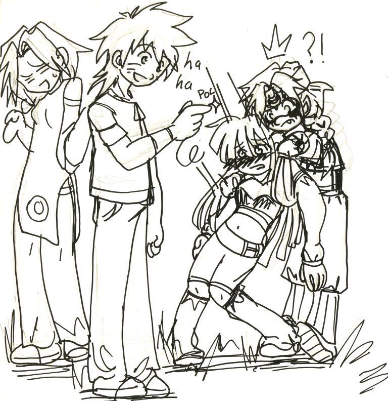 Fanart de Haruno Sakura, Hyûga Hinata, Uzumaki Naruto par Fan_à-tics