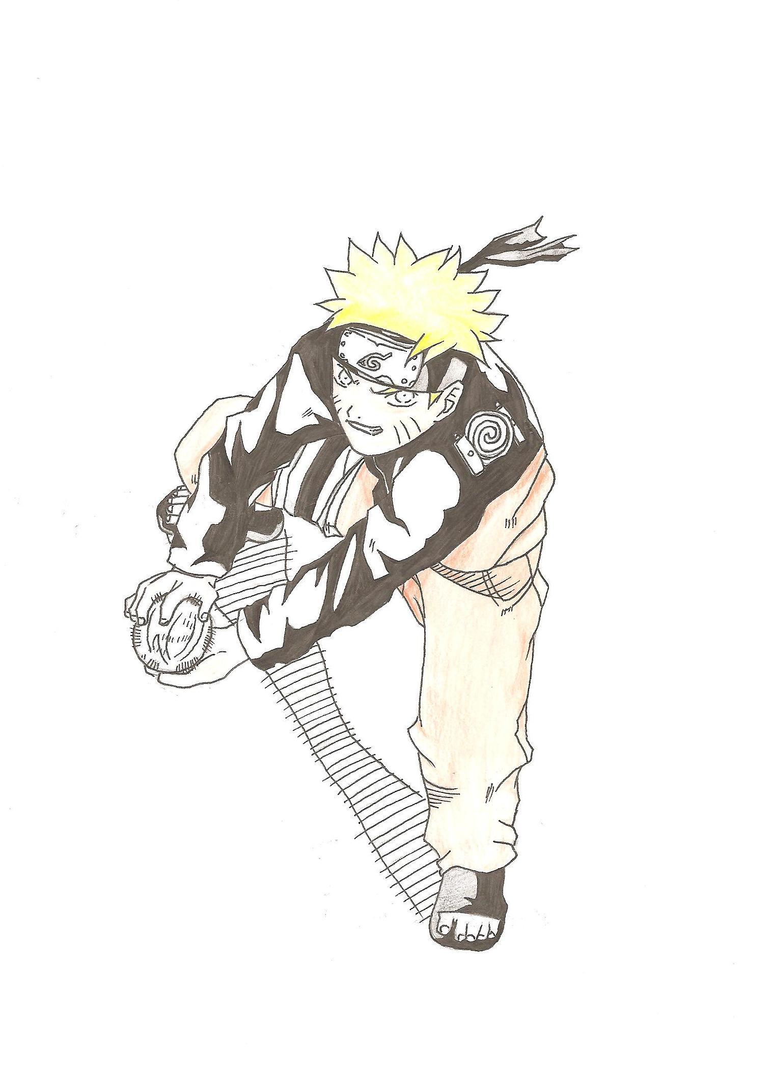 Naruto the way of naruto naruto shippuden rasengan de iashi731 - Naruto dessin couleur ...
