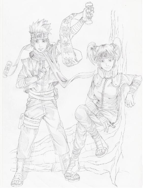 Fanart de Konohamaru par Darok