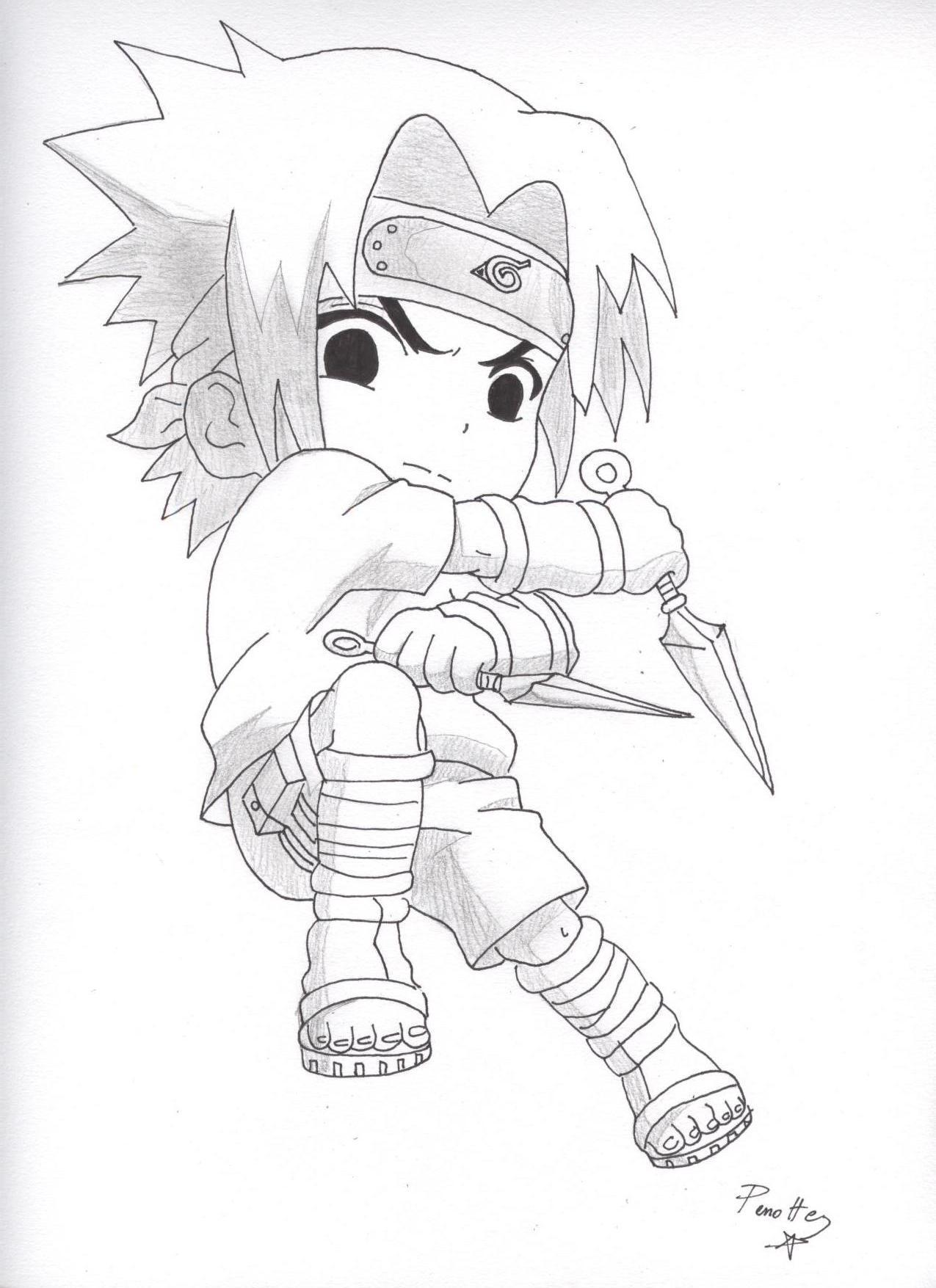 Naruto The Way Of Naruto Mini Sasuke De Ukai