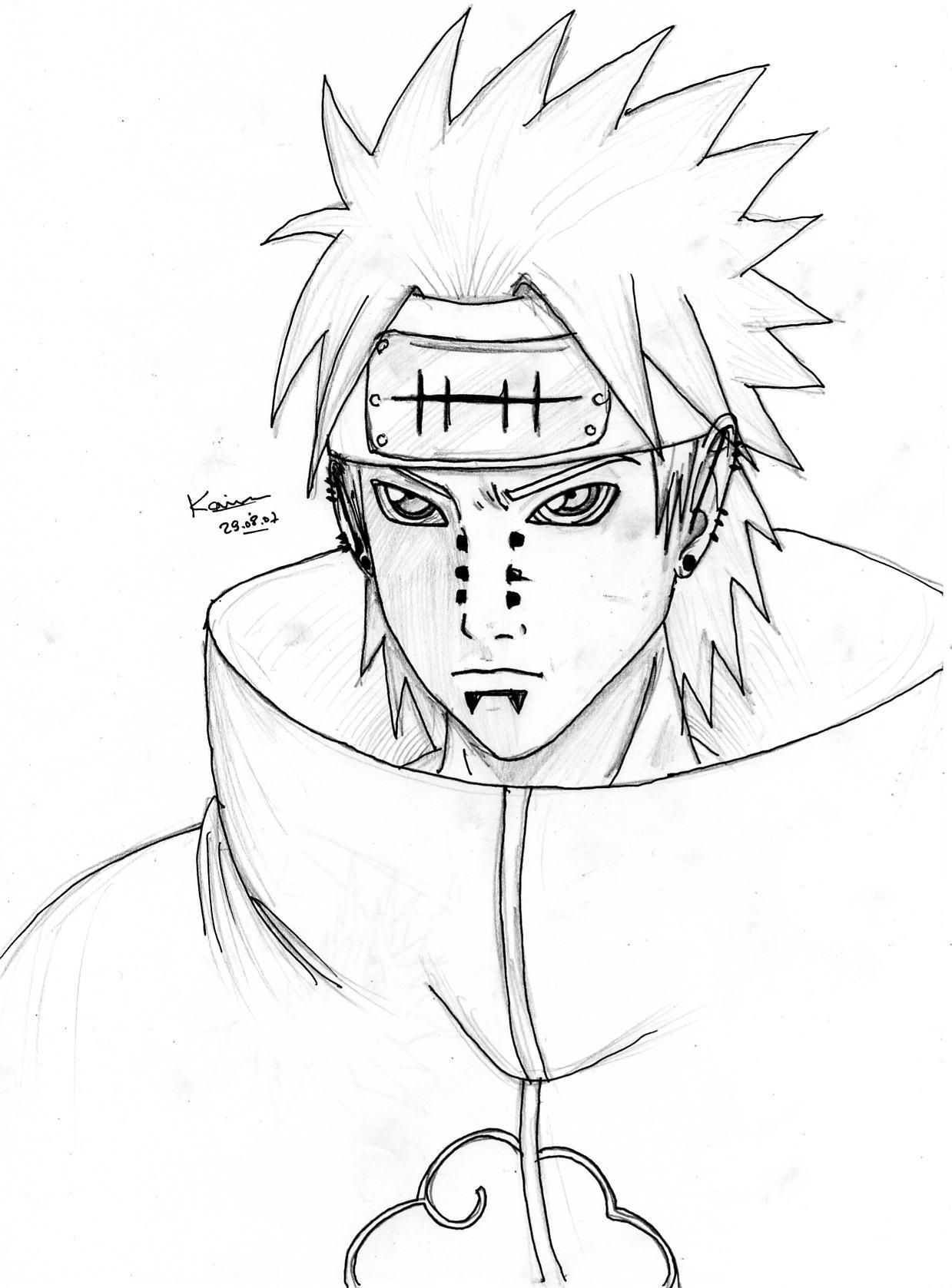 Naruto the way of naruto pein de madara66 - Dessin naruto manga ...