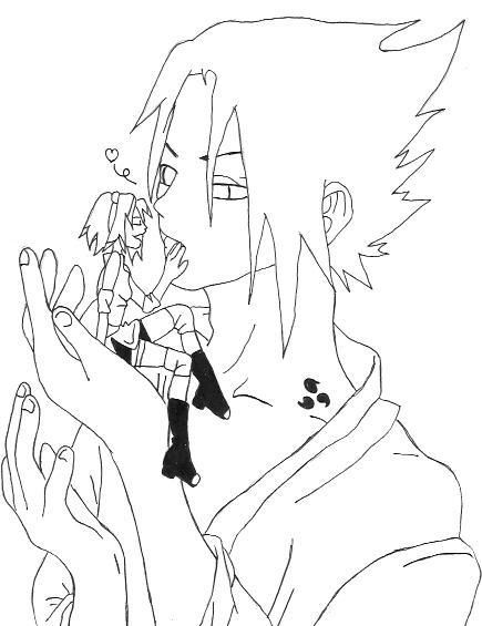 Naruto the way of naruto un autre dessin a colorier de - Image a colorier naruto ...