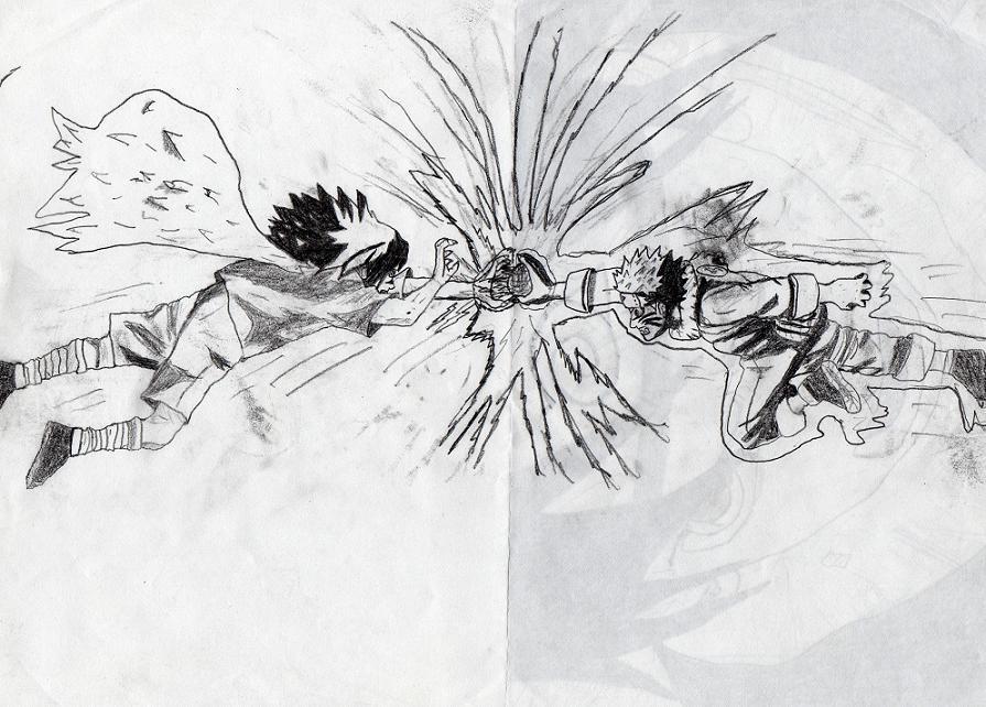 Naruto The Way Of Naruto Sasuke Vs Naruto De Cagneuu