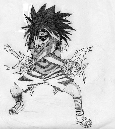 Naruto the way of naruto sasuke 2 double chidori de - Dessin naruto et sasuke ...