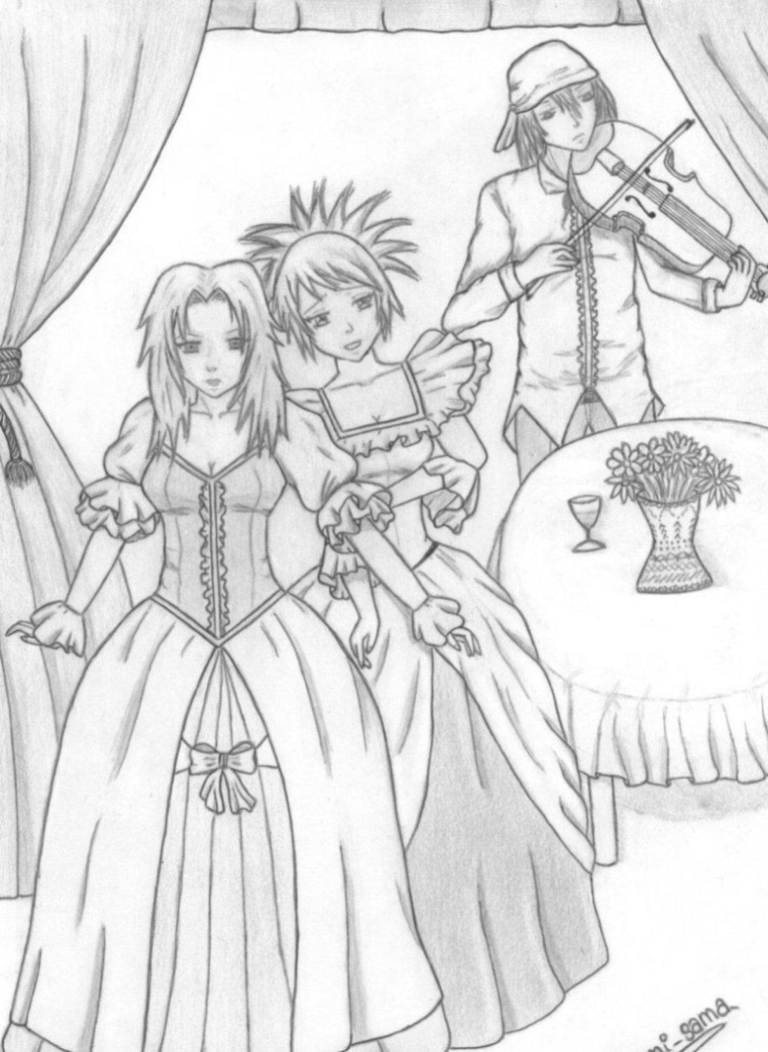 Fanart de Gekko Hayate, Mitarashi Anko, Yuhi Kurenaï par sasuke/itachi