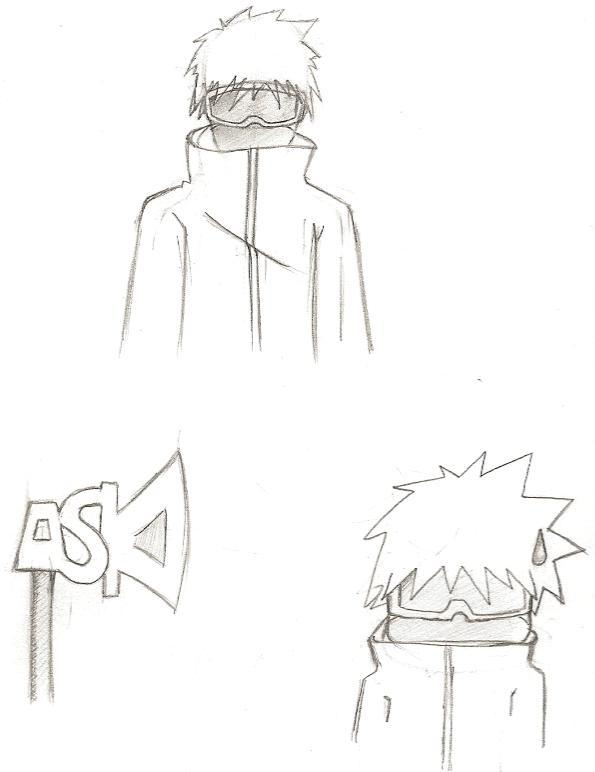 Naruto the way of naruto croquis de la tenue de young - Croquis naruto ...
