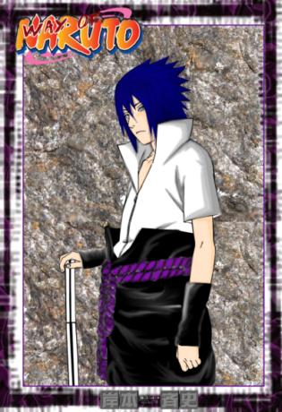Fanart de Uchiwa Sasuke par Jihell
