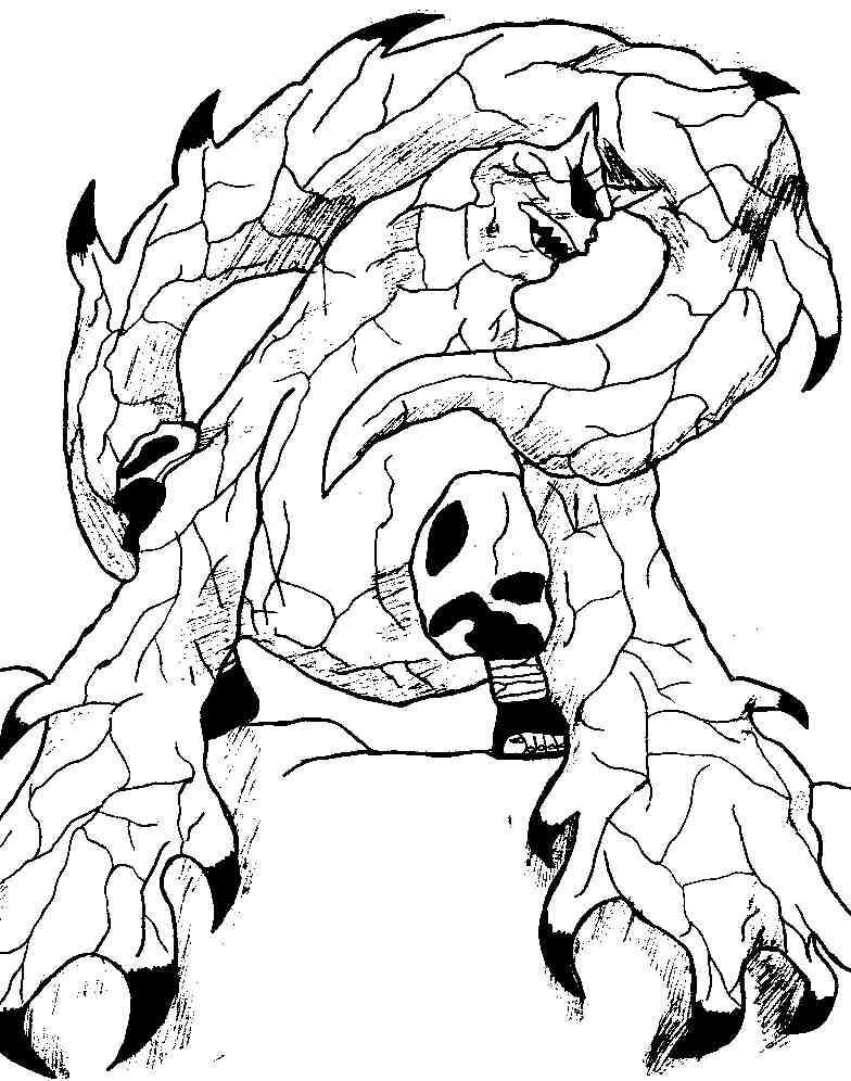 Naruto the way of naruto gaara le d mon shukaku de tim - Dessin de demon ...