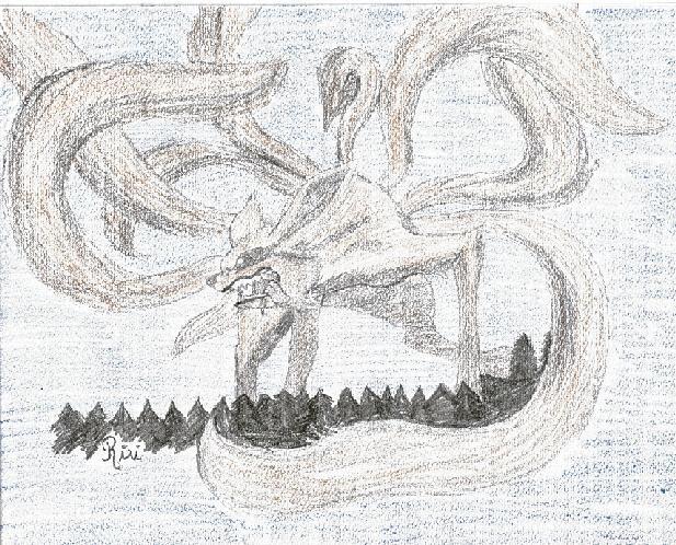 Naruto the way of naruto d mon kyubi de sakura6394 - Dessin de demon ...