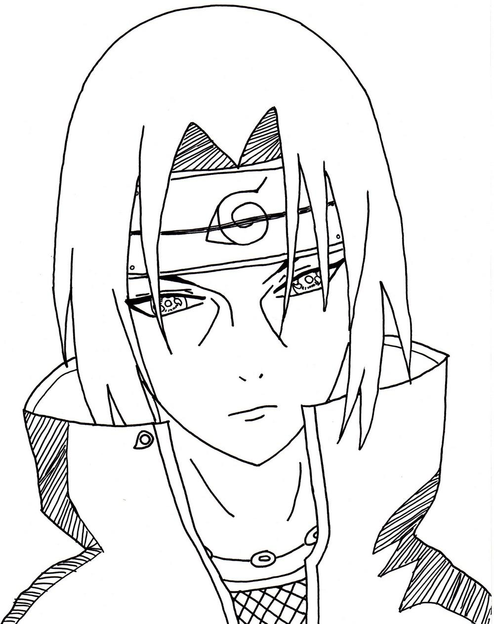 Naruto the way of naruto itachi de dolurn - Comment dessiner sasuke ...