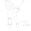 Hinata: 1er fan art